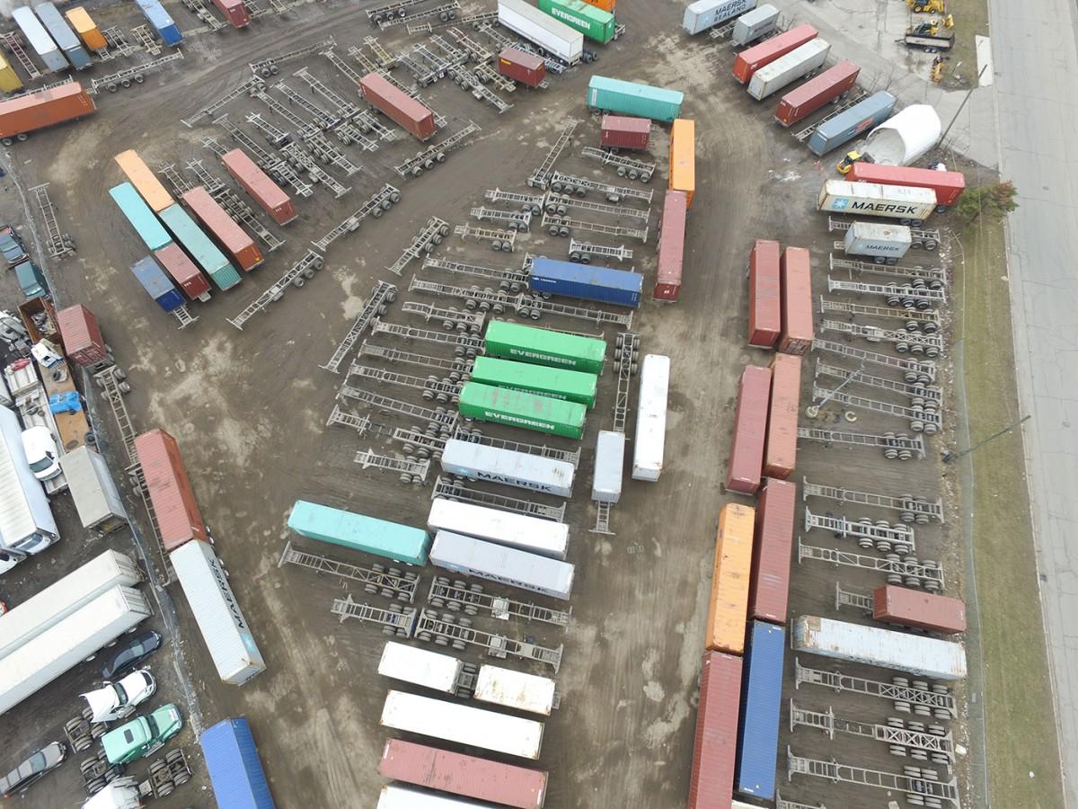 One of CTI's storage facility oversight views